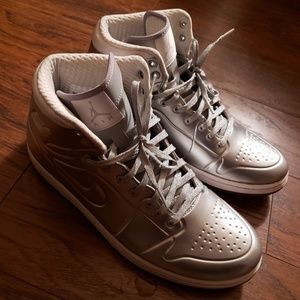 Men's Nike Air Jordan AJ 1 Anodized Metallic